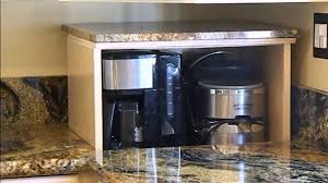 Kitchen Corner Furniture Blind Corner Cabinet Appliance Lift Demonstration Youtube