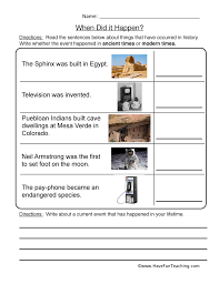 sequencing worksheets have fun teaching