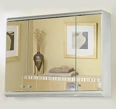 3 Door Mirrored Bathroom Cabinet by 3 Door Mirror Bathroom Cabinet 800x550x130mm Roma Cabinets Roma