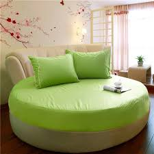 Sofa Bed Fitted Sheet Aliexpress Com Buy Clearance Green Round Fitted Sheet Reactive
