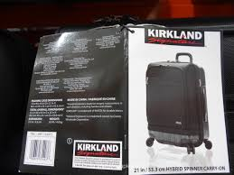 Frontier Carry On by Kirkland Signature Hybrid Carry On Spinner