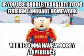 Translate Meme - from google translate to philosophy train of thoughts