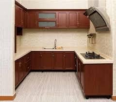Kitchen Cabinets Wood Colors China Aluminum Kitchen Cabinets In Solid Wood Color Br Alk007