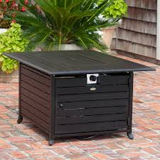 fire sense patio heater parts fire sense rectangular fire pit table with cover hayneedle