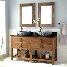 Double Vessel Sink Bathroom Vanities by Vanities Double Sink Bathroom Vanity Dimensions Dual Sink Vanity