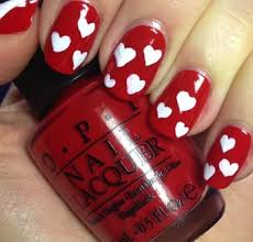 20 nail art tutorials for valentines day nail design ideaz