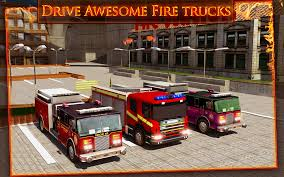 fire trucks monster truck stunt fire truck emergency rescue 3d android apps on google play