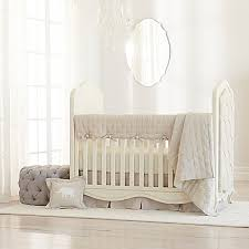 Just Born Crib Bedding Just Born Keepsake Linen Crib Bedding Collection In Flax Buybuy