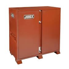 Honey Can Do 60 Double Door Storage Closet by Steel Garage Cabinets U0026 Storage Systems Garage Storage The