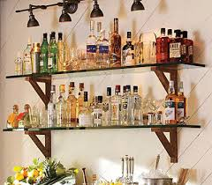 Wood Shelf Plans For A Wall by Modern Home Bar Designs Functional And Stylish Bar Shelf Ideas