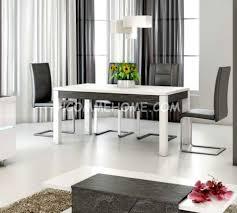 Table Salle A Manger Verre Design by Salle Manger Laque Bi Couleur U2013 Chaios Com