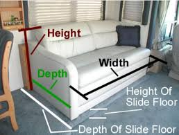 Rv Sleeper Sofa Air Mattress Throw Out That Lumpy Sofa You Need A New Rv Sofa Bed Rvshare
