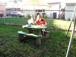 step2 naturally playful picnic table video review youtube