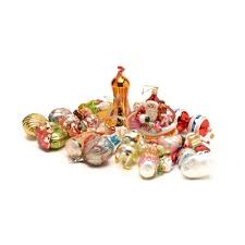 collection of christopher radko christmas ornaments and other