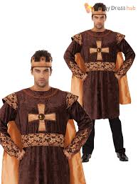 mens ladies tudor king queen costume medieval historical fancy