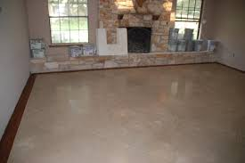light stained concrete floors stained concrete floors below new construction stain color