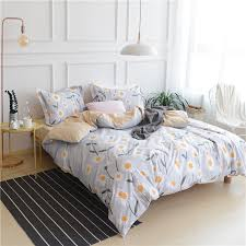 Sunflower Bed Set Sunflower Bedding Set Stapled Cotton Beautiful And