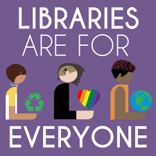 libraries are for everyone hafuboti