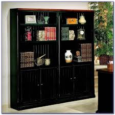 black bookcase with glass doors uk bookcases home design ideas