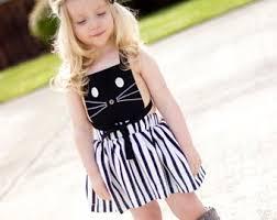 kitty cat dress etsy