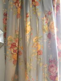 faded curtain charm