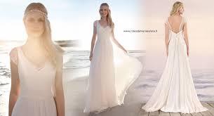magasin robe de mariã e pas cher robe de mariée bohème chic et chêtre en dentelle et mousseline
