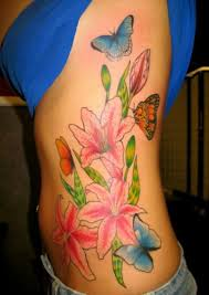 butterfly design rib cage allcooltattoos com