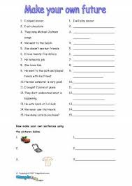 all worksheets simple future tense worksheets pdf printable