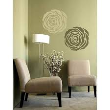stencil wall art the home made simple show utilizes stencils
