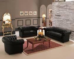 canape chesterfield noir un canapé chesterfield le chic et le confort à la maison archzine fr