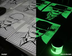 glow in the dark poster breaking bad glow in the dark poster color printing technique
