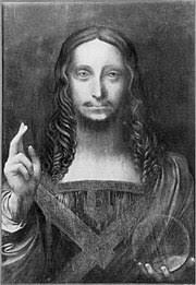 Leonardo Da Vinci Drapery Salvator Mundi Leonardo Wikipedia