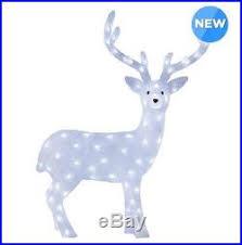 Outdoor Christmas Deer With Lights 102m U2013 Christmas Decor World