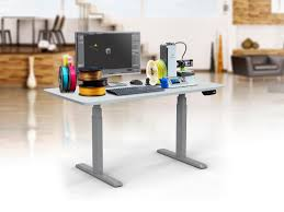 Diy Height Adjustable Desk by Sit Stand Dual Motor Height Adjustable Desk Frame Electric Gray