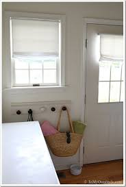 no sew window treatment relaxed roman shades in my own style