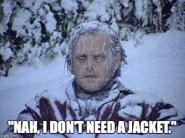 Meme Jacket - jack nicholson the shining snow meme imgflip