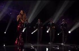 american music award 2015 ariana grande performs