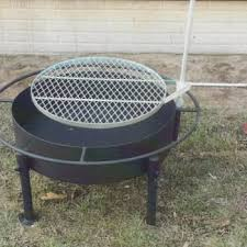 Grill Firepit Pit Grill By Orchard Drive Fabrications