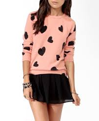 ditsy reglan sweater forever 21 fashion 3