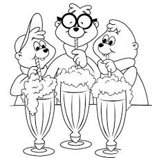 16 alvin chipmunks coloring pages images