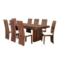 neelkamal dining table buy delmonte 8 seater dining kit home nilkamal walnut online