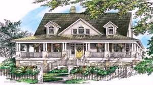 House Plans With A Wrap Around Porch by Cool House Plans With Wrap Around Porches Youtube