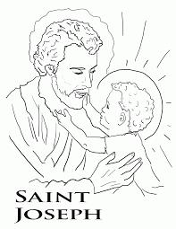 saint john coloring page saint augustine coloring page st joseph