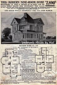 1915 home decor the sears 118 a very popular early sears modern home oklahoma
