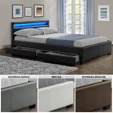 Schlafzimmer Komplett Mit Bett 140x200 Polsterbetten Kaufen Rakuten De Bett Mit Bettkasten Ikea