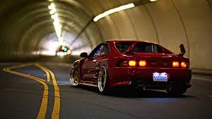 cars toyota cars photography tunnel bokeh roads vehicles red cars