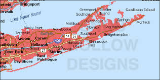 suffolk county map suffolk county york color map
