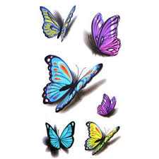 9 best professional 3d butterfly tattoos images on 3d