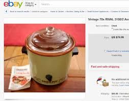 crock pot sales for black friday vintage