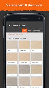 Project Color The Home Depot Android Apps On Google Play - Home depot interior paint colors